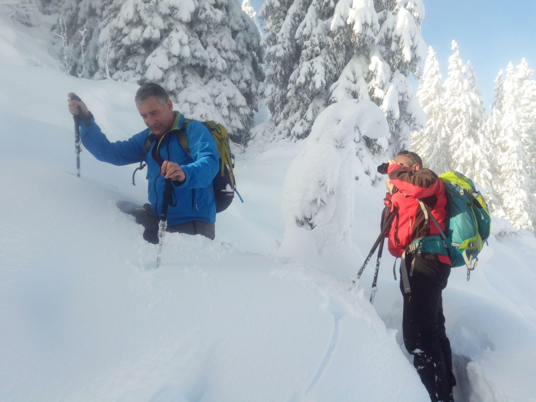 Schneeschuhtour Gugeni 30.11.2019