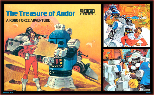 Robo Force - The Treasure of Andor  1985