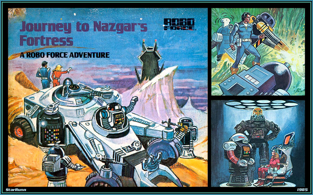 Robo Force - Journey to Nazgar's Fortress  1985