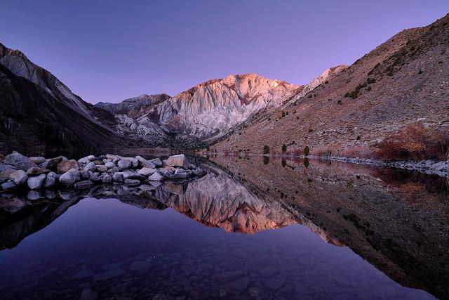 Sunrise at Convict Lake - Eastern Sierra, California
