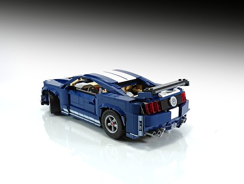 Ford Mustang Shelby GT500 10265 Model B MOC | by Firas Abu-Jaber