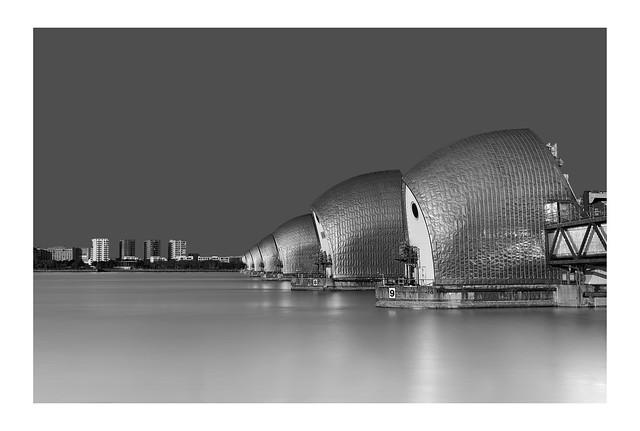 Thames Barrier   East London