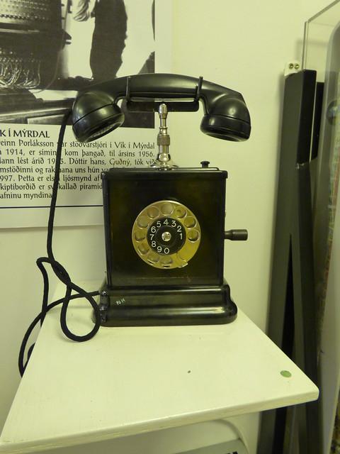 Seyðisfjörður telephone equipment