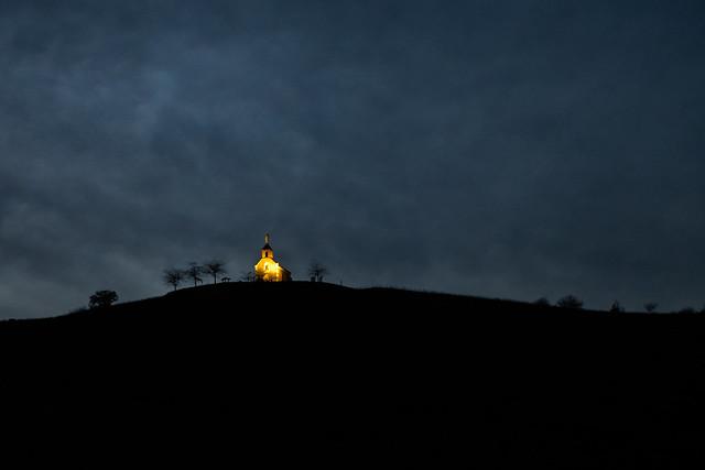 Là haut sur la colline