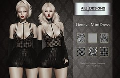 KiB Designs - Geneva MiniDress @Suicide Dollz