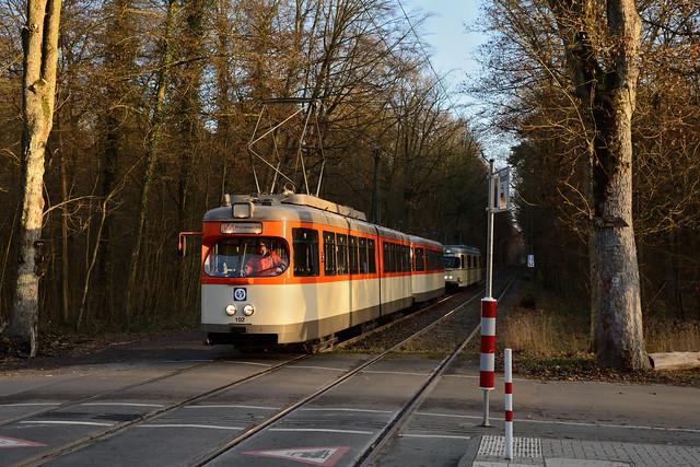 VGF M-Wagen 102 Oberschweinstiege