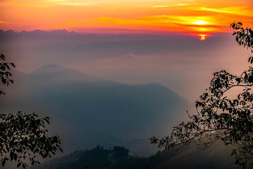bhutan nepal2019 talakhu bagmatizone nepal sunrise himalayas chisapani