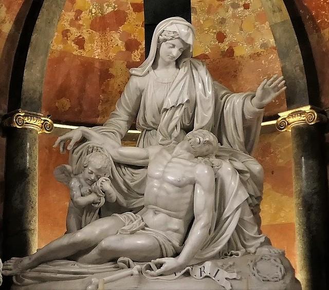 Málaga Cathedral - 014 - Pietà - 1802 - Pietro and Giovanni Pissani