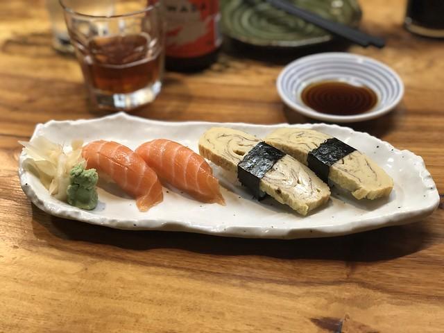 Salmon & Tamago Nigiri