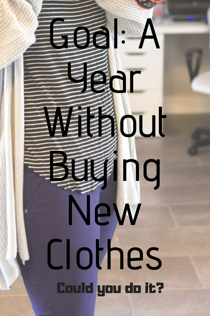 Could you go one year without buying new clothes?