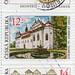 Czech stamps.  UNESCO World Heritage Sites.