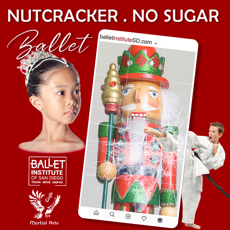 The Nutcracker. No Sugar. Rehearsals