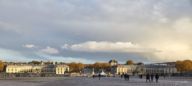 Versailles sous nuages