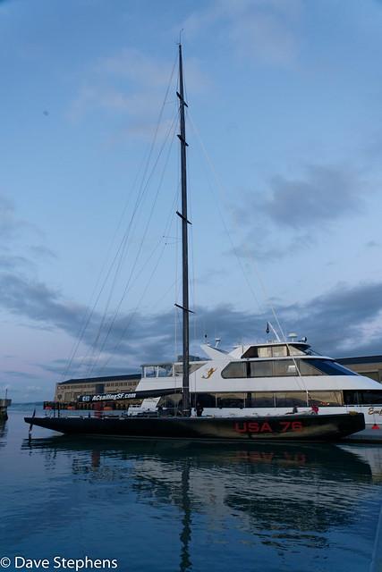USA 76 - America's Cup Yacht