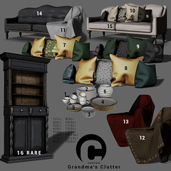 Contrast - Grandmas Clutter
