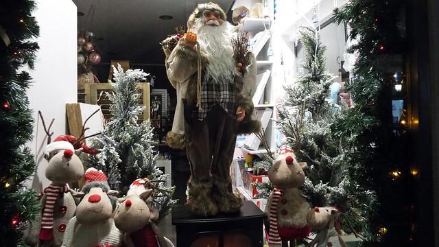 Χριστουγεννιάτικος στολισμός στην πόλη της Λευκάδας