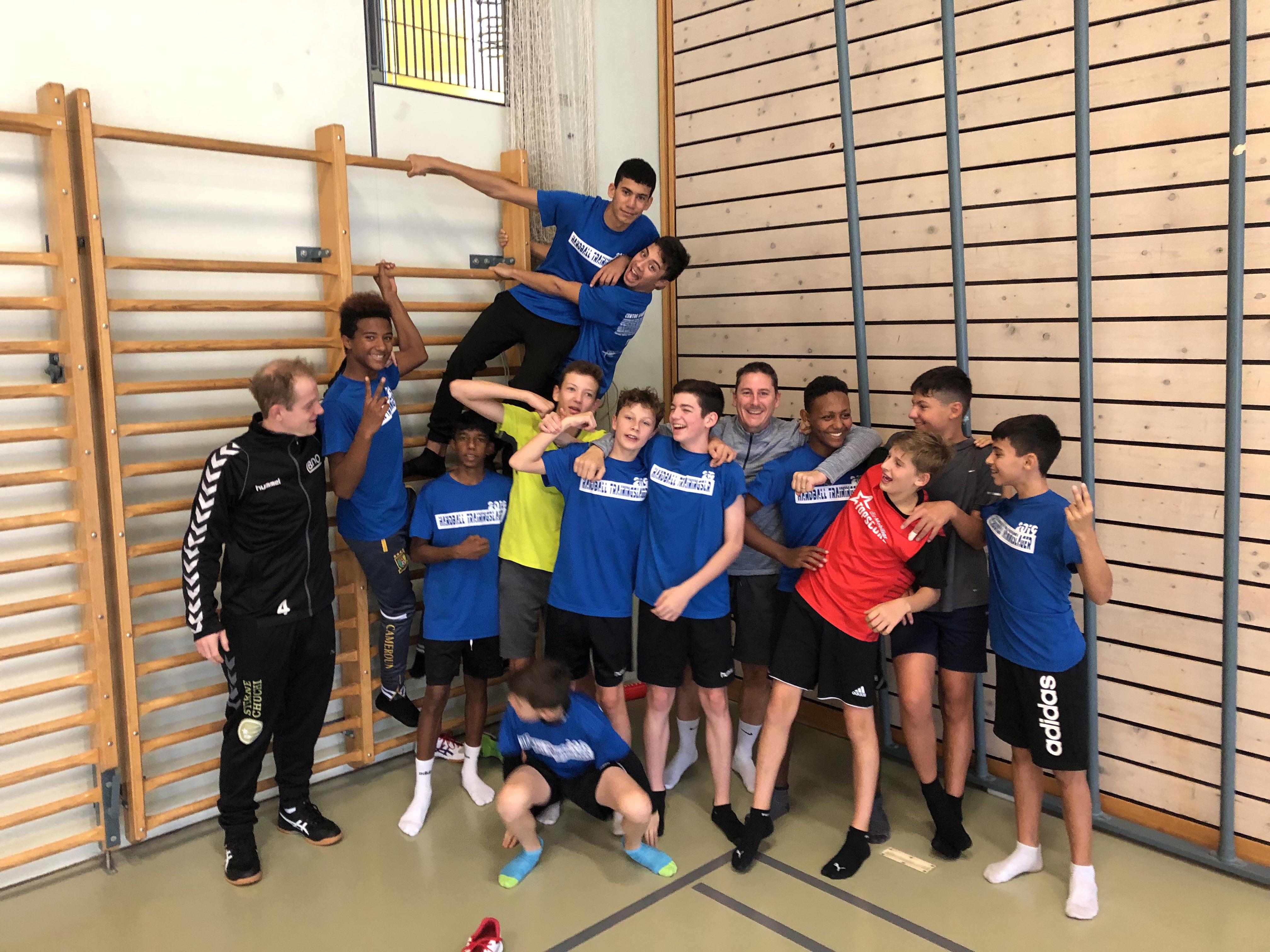 Trainingslager 2019 Le Sentier MU15