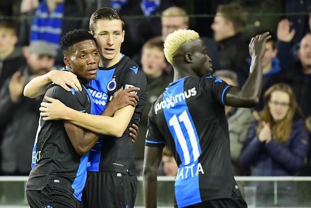Club Brugge - Moeskroen 30-11-2019