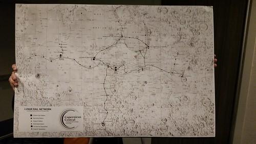 Lunar Railroads