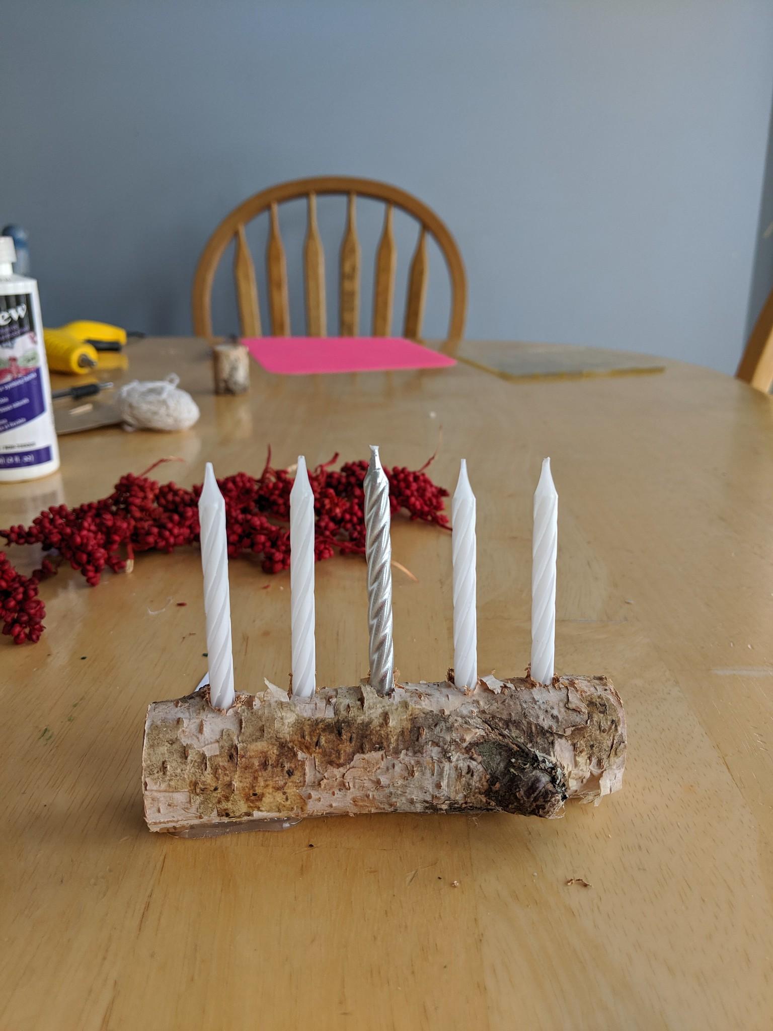 Onebluestocking An Advent Wreath Er Log