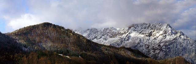 Untersberg, view from Oberalm
