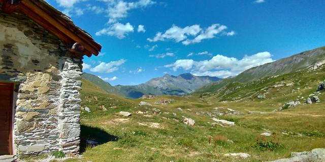 Alpes 08/2019 - Chapelle Saint Jean-Baptisten au dessus du refuge du Petit Mont Cenis