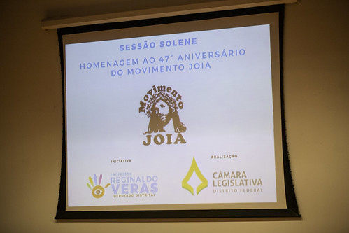 Sessão Solene em homenagem ao 47º aniversário do movimento Joia