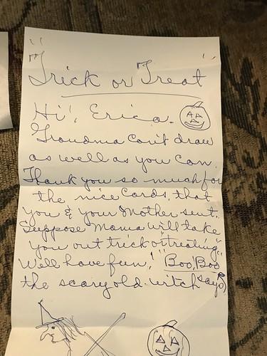 grandma letter