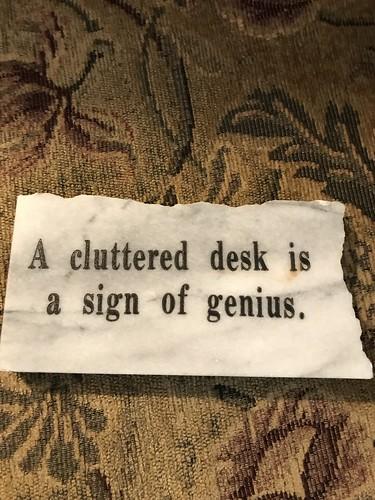 desk plaque