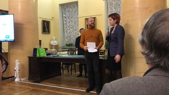 Ноя 29 2019 - 17:31 - 29 ноября 2019, Пушкинский дом  Фото: Владислава Сычёва