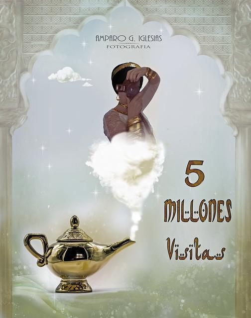 Cinco millones de visitas - Amparo García Iglesias