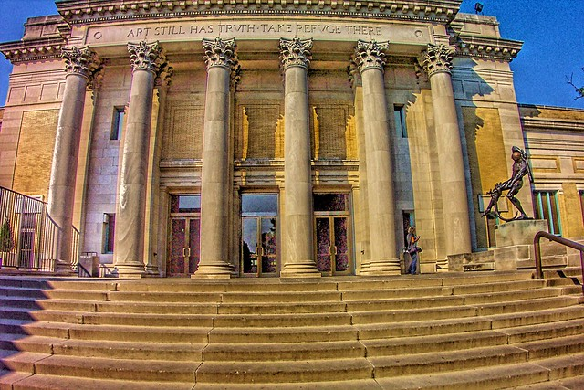 Saint Louis Art Museum - Interior Lobby Area - 1904 - St Louis  Missouri