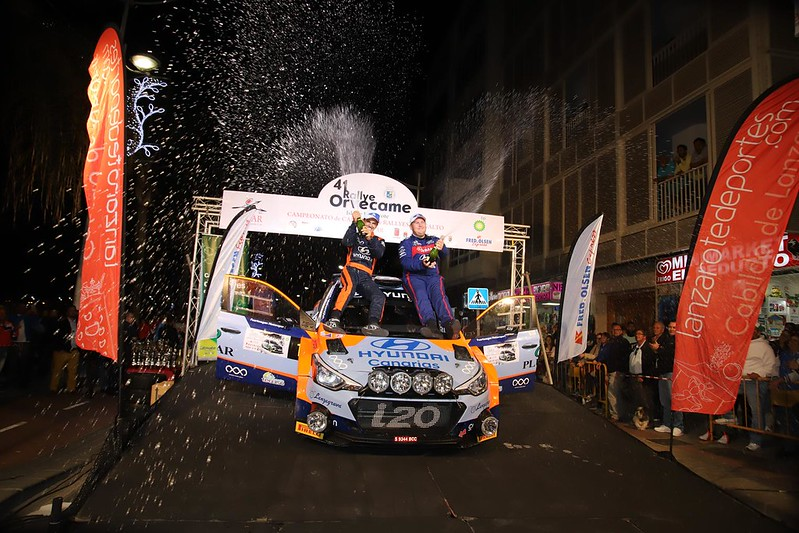 Trofeos  Rallye ORVECAME Isla de Lanzarote