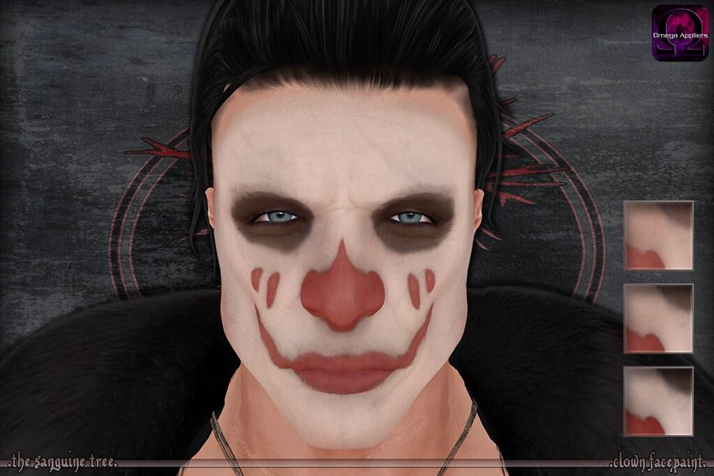 [ new release – clown facepaint ]