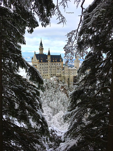 My first day of winter shooting this year. And directly the most famous castle in winter wonderland.