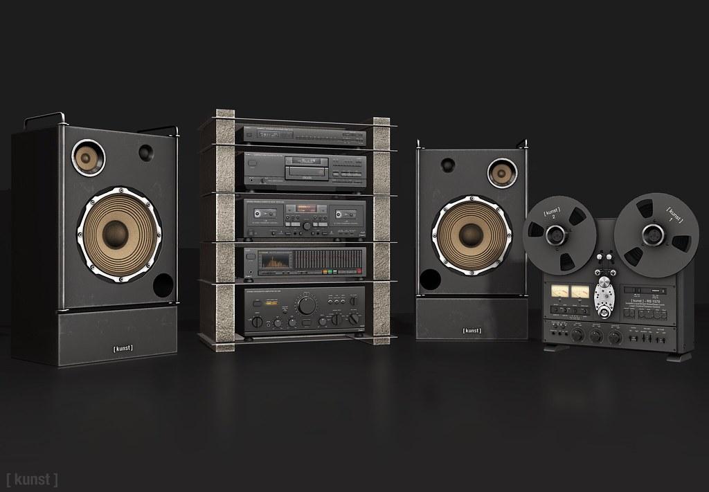 [ kunst ] - Hi-fi home system