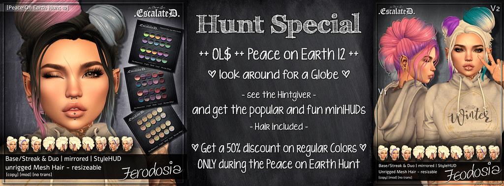 Peace on Earth Hunt