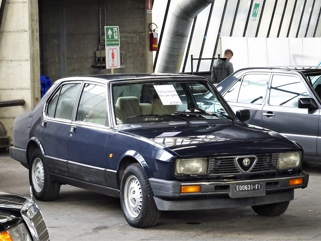 1984 Alfa Romeo Alfetta 2 0 A Photo On Flickriver