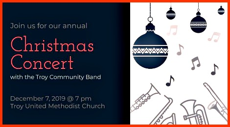 Troy Community Band 12-7-19