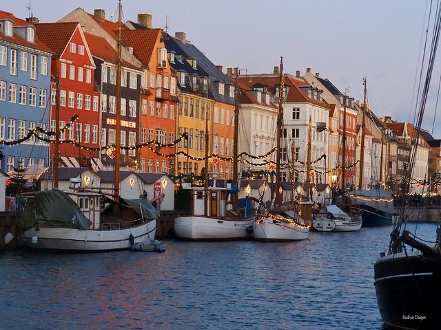 Christmas mood in Nyhavn