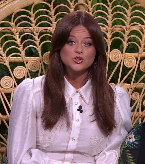 I'm A Celeb host Emily Atack slams James Haskell after he insists he's too 'intelligent' for task