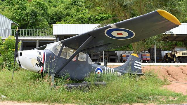 Cessna O-1E Bird Dog Thailand Air Force / Army preserved as RAF