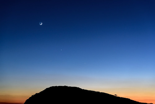 土星、月、金星、木星ーSaturn, Moon, Venus, Jupiter