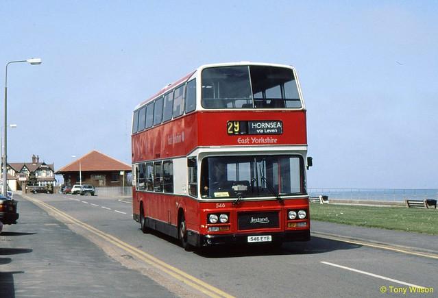 546EYB B110LPH East Yorkshire Motor Services EYMS 346