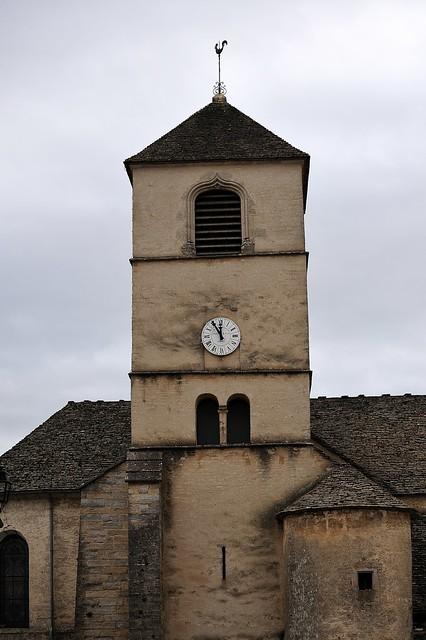 Eglise de Château Chalon - Jura.
