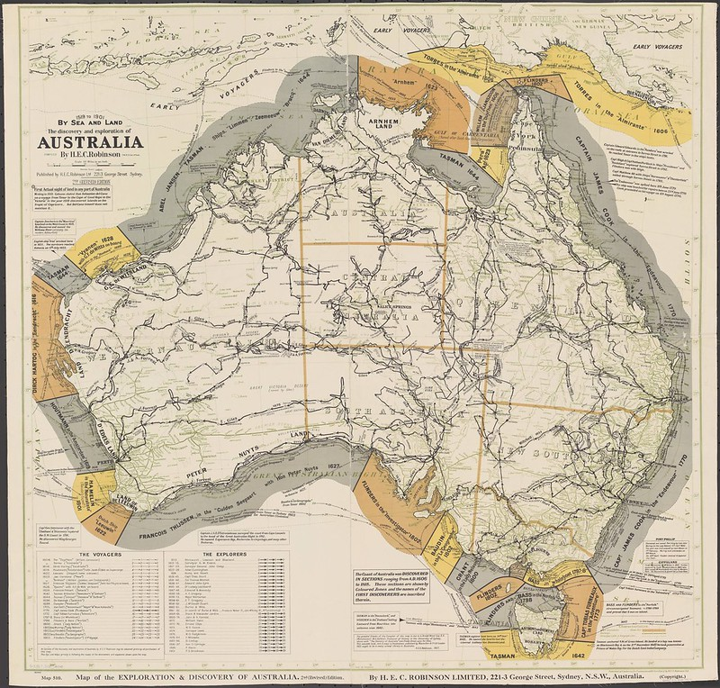 The discovery and exploration of Australia by sea and land (1927)