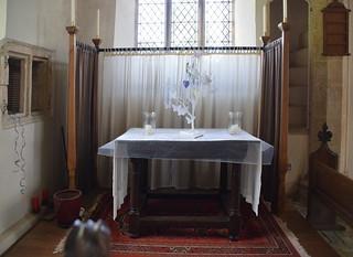 north aisle altar