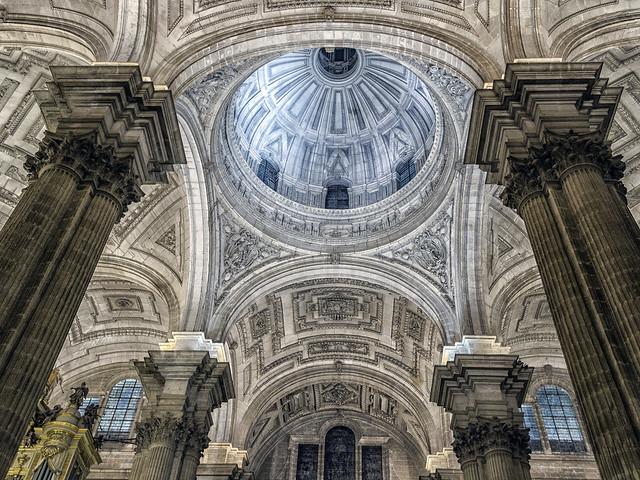 Cúpula de la catedral de Jaén.