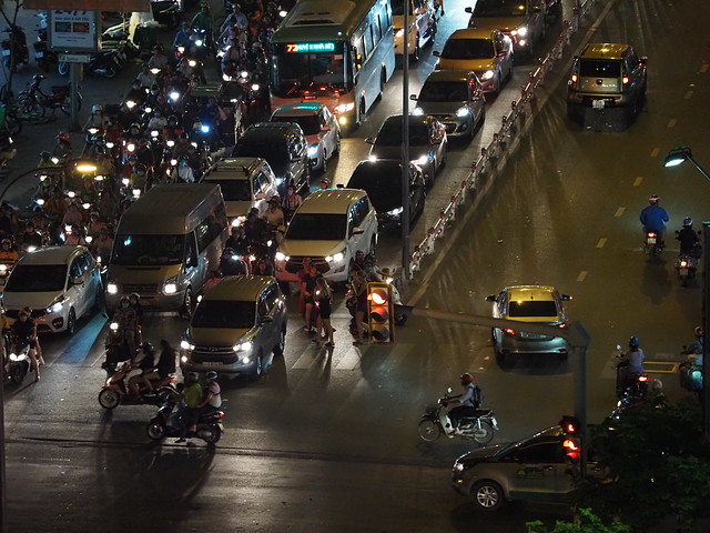 Traffic Manic in Saigon