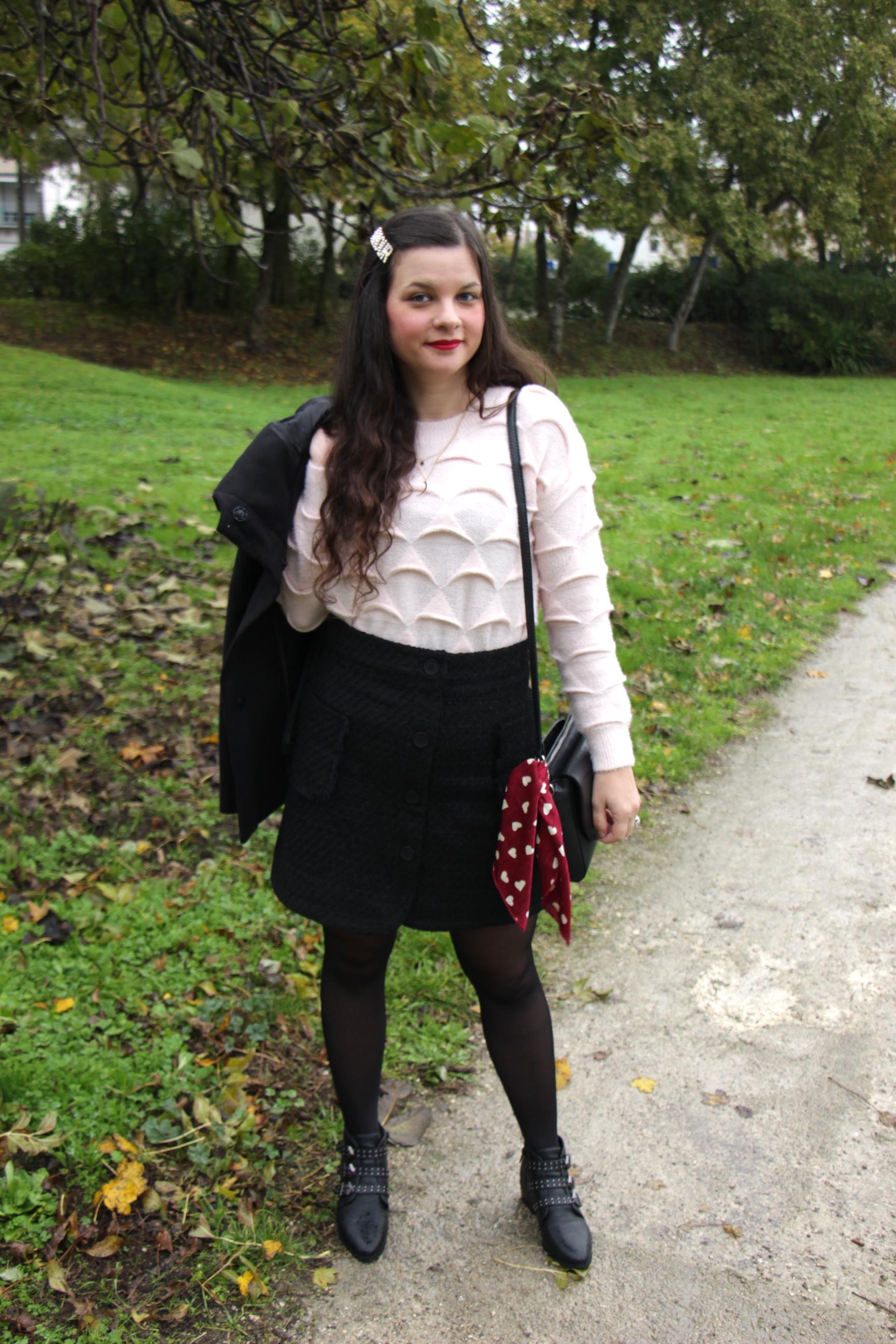 look-dhiver-rose-et-noir-blog-mode-la-rochelle-3